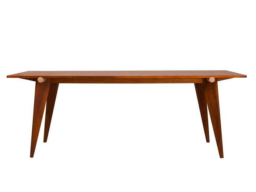 Rectangular walnut table HARITZ | Walnut table by Versant Edition