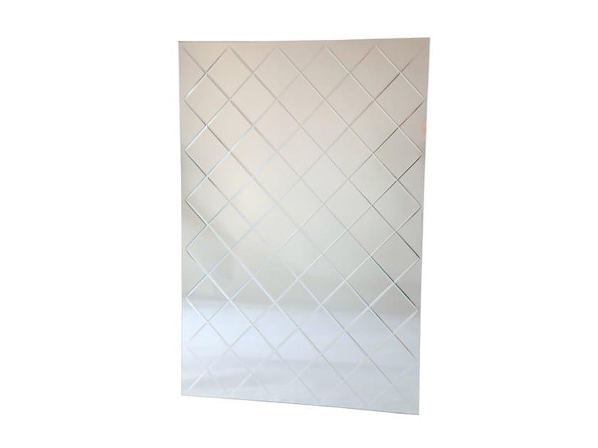 Rectangular mirror HARLEQUIN - CLEAR by Specktrum