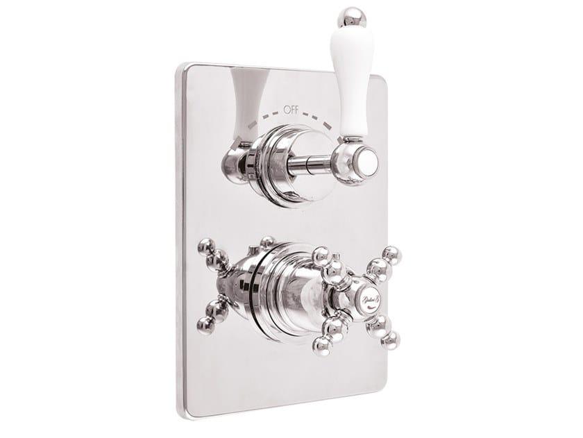 2 hole thermostatic shower mixer HARMONY - HARMONY CRYSTAL - 8212PR by Rubinetteria Giulini