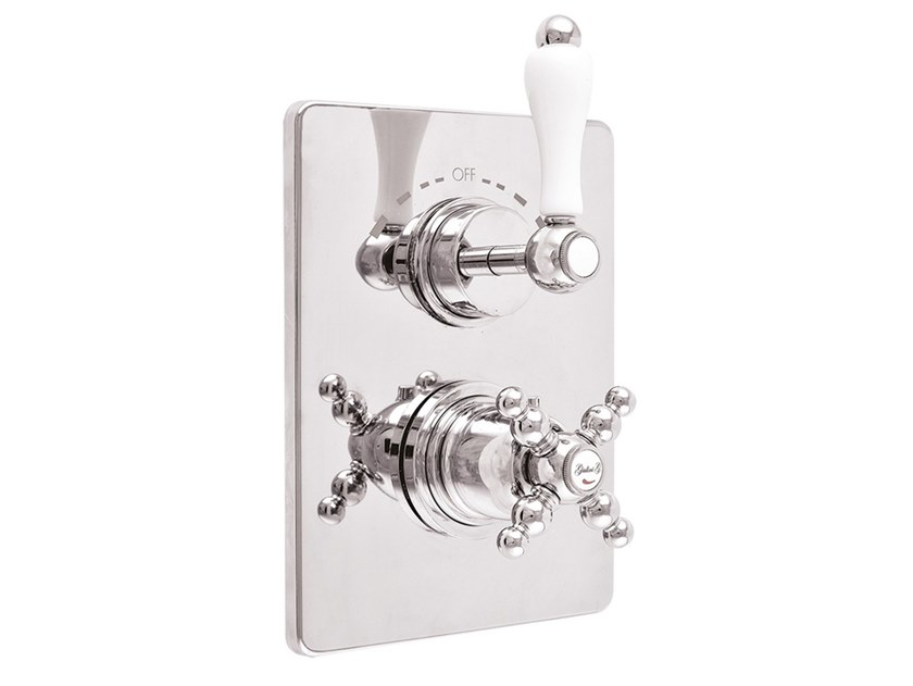 2 hole thermostatic shower mixer HARMONY - HARMONY CRYSTAL - 8213PR by Rubinetteria Giulini