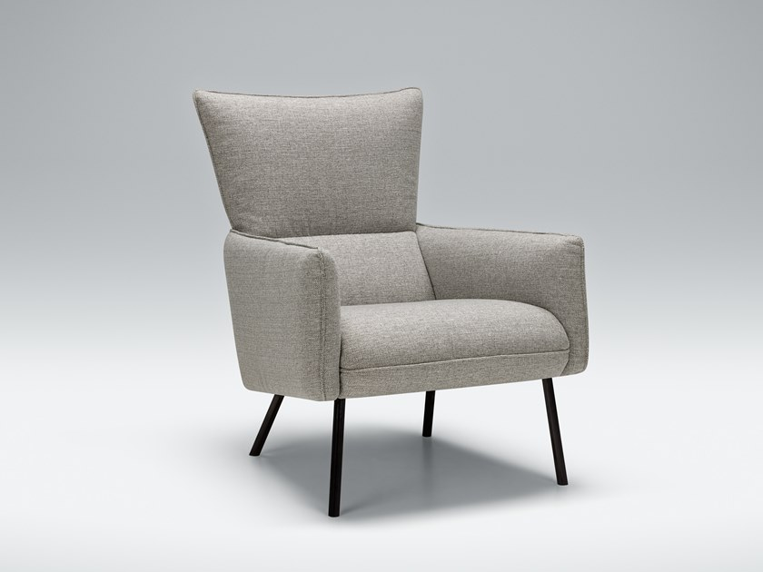 Fabric armchair with armrests HARRY   Fabric armchair by Sits