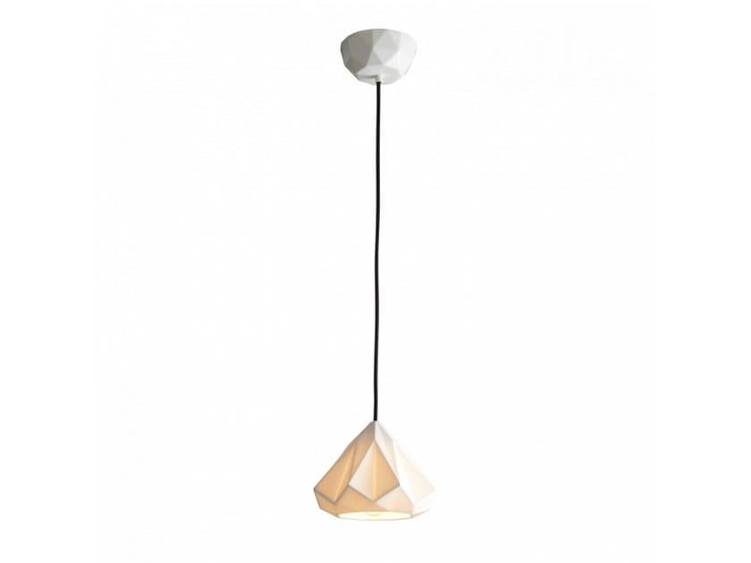 Porcelain pendant lamp with dimmer HATTON 1 | Pendant lamp by Original BTC