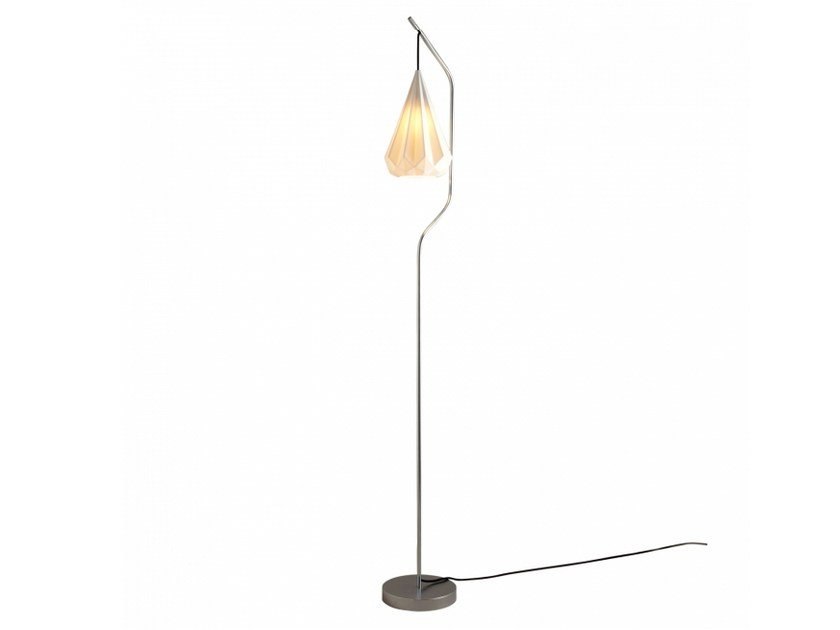Porcelain floor lamp with dimmer HATTON 3 | Floor lamp by Original BTC