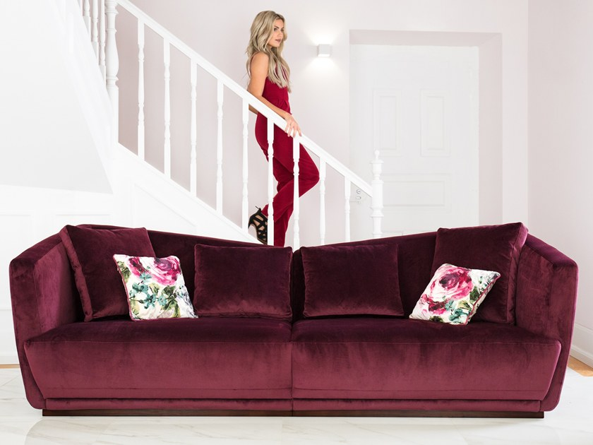 Fabric sofa HAYA by Aquinos Collection