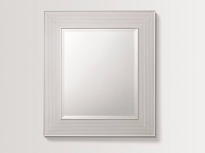 Rectangular wall-mounted framed mirror HAZE by BATH&BATH