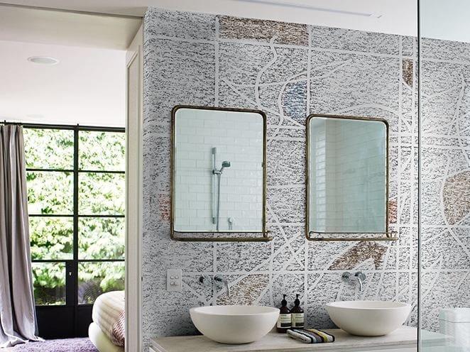 Tapete fürs Badezimmer HB Kollektion WET SYSTEM 16 By Wall&decò ...
