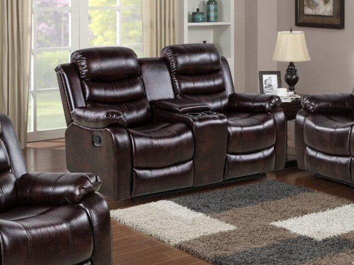 2 seater leather sofa HD-1887 | 2 seater sofa by Xinyang Yonghaoxuan