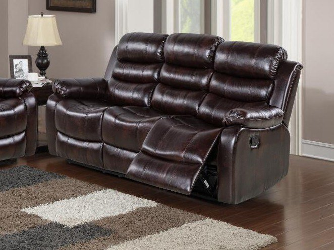 3 seater leather sofa HD-1887 | 3 seater sofa by Xinyang Yonghaoxuan