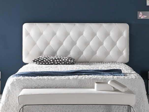 Tufted upholstered headboard for double bed VELVET | Headboard by Altinox