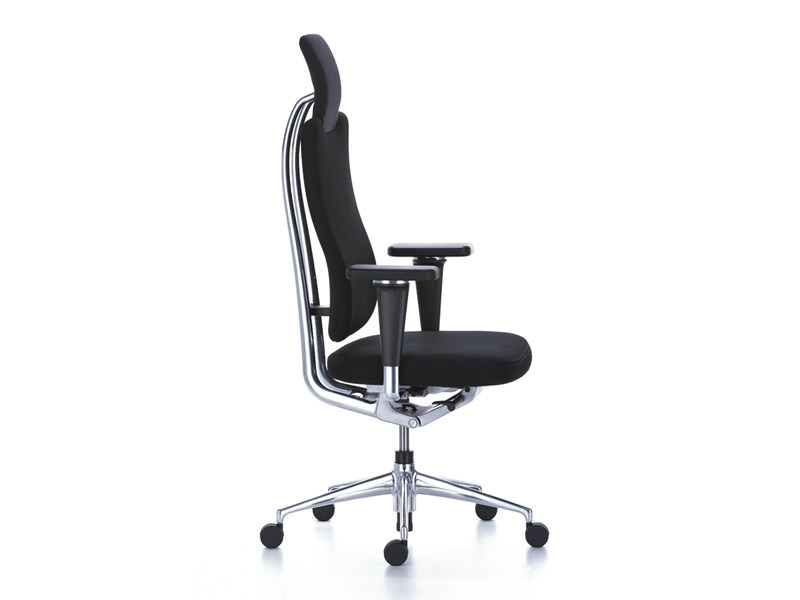 Contemporary Style Swivel Fabric Executive Chair Headline Office By Vitra