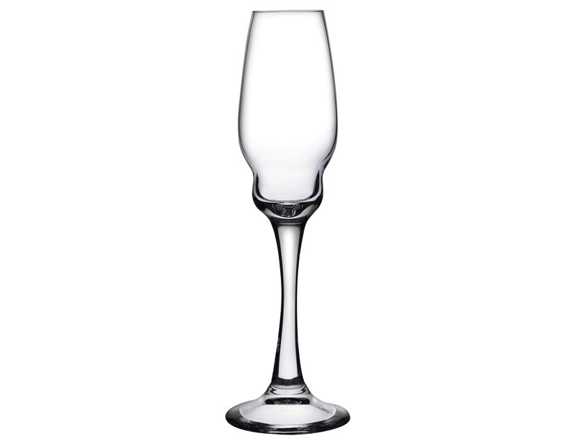 Set of 2 Champagne Glasses HEADS UP | Champagne glass by NUDE