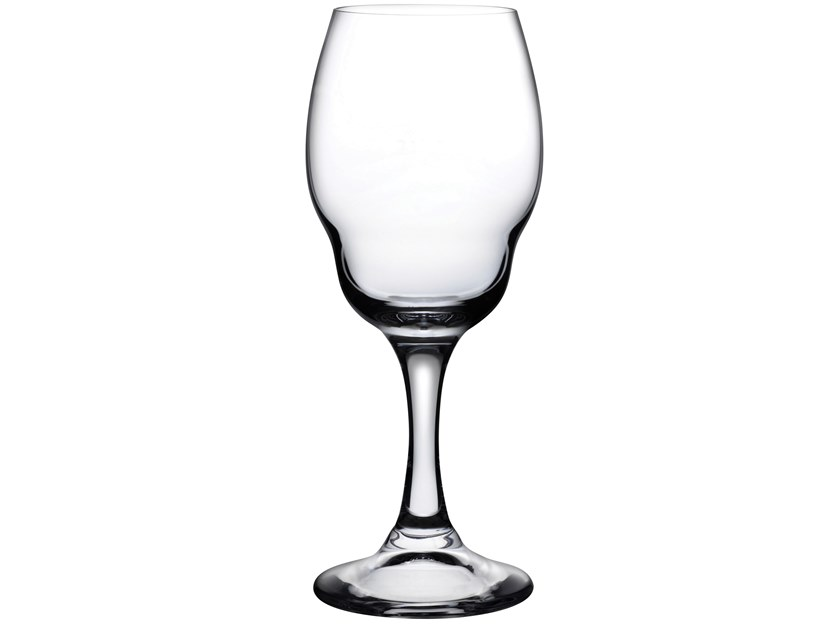 Set of 2 White Wine Glasses HEADS UP | Crystal glass by NUDE