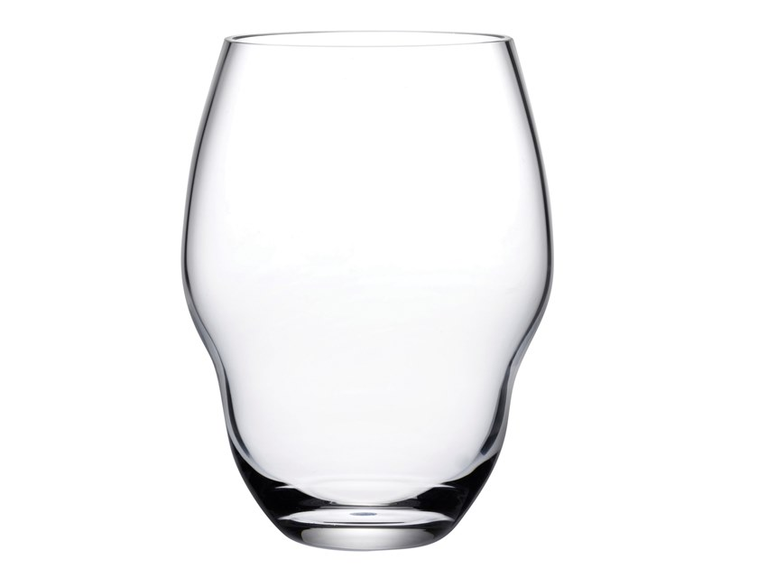 Set of 2 Water Glasses HEADS UP | Glass by NUDE