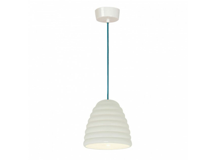 Porcelain pendant lamp with dimmer HECTOR BIBENDUM 2 | Pendant lamp by Original BTC