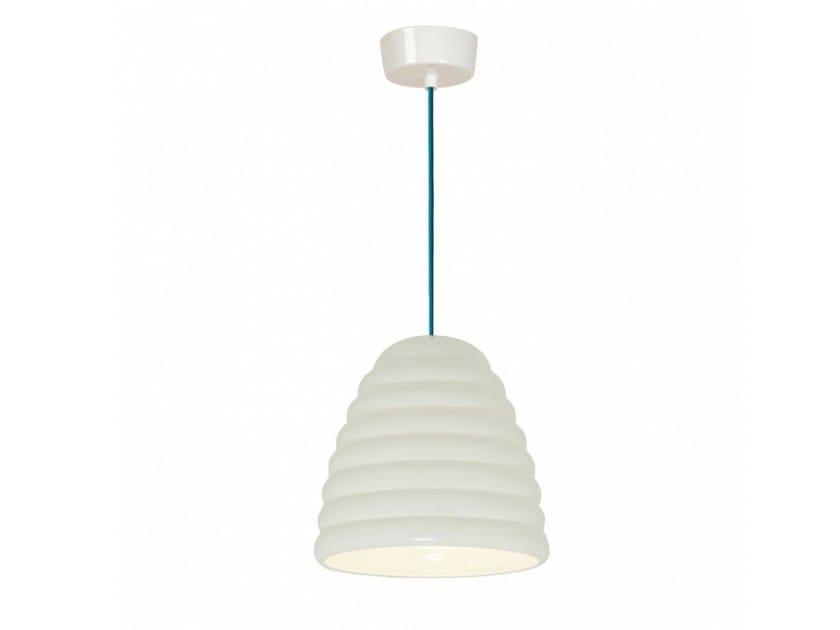 Porcelain pendant lamp with dimmer HECTOR BIBENDUM 3 | Pendant lamp by Original BTC