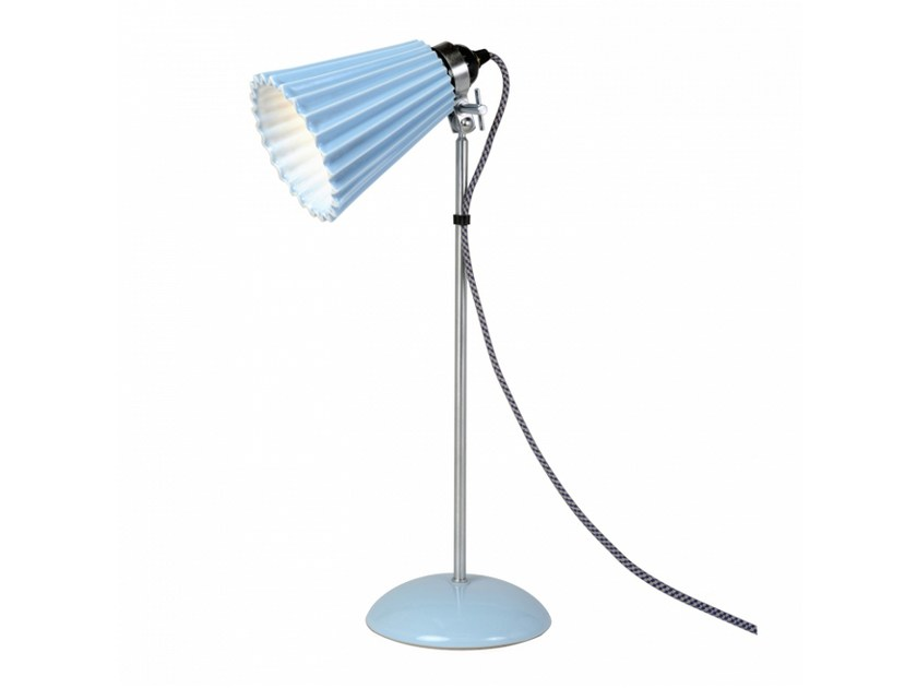Adjustable porcelain table lamp HECTOR MEDIUM PLEAT | Table lamp by Original BTC