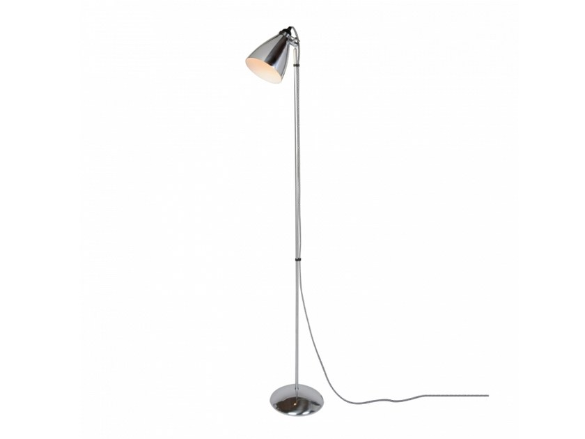 Adjustable aluminium floor lamp HECTOR METAL | Floor lamp by Original BTC