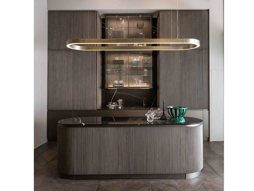 Kitchen with island HEGE by Shake