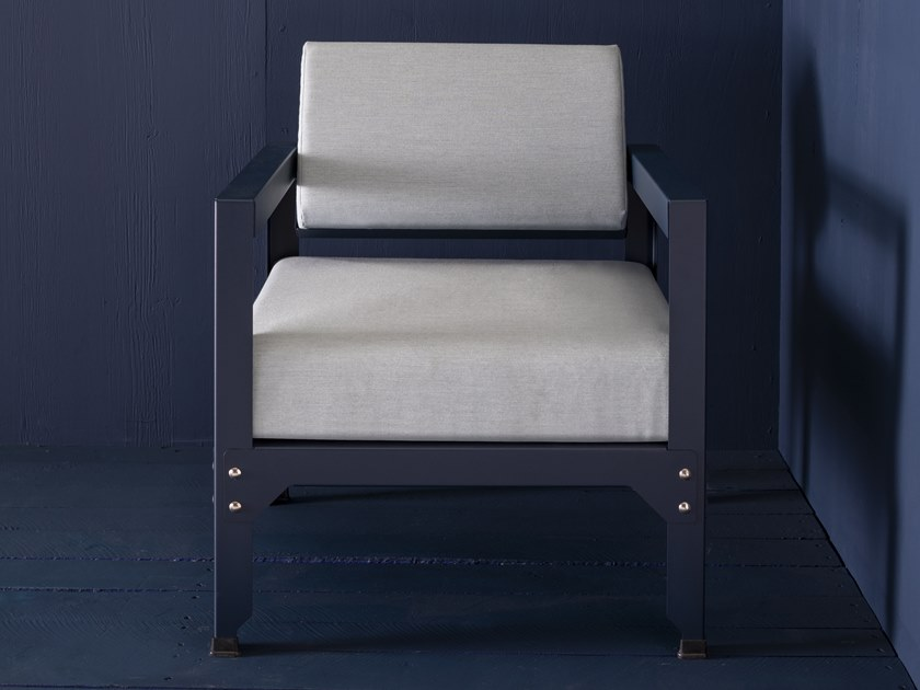 Recliner armchair with armrests HEGOA | Recliner armchair by Matière Grise