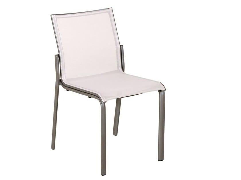 Stackable Batyline® garden chair HEGOA | Chair by Les jardins