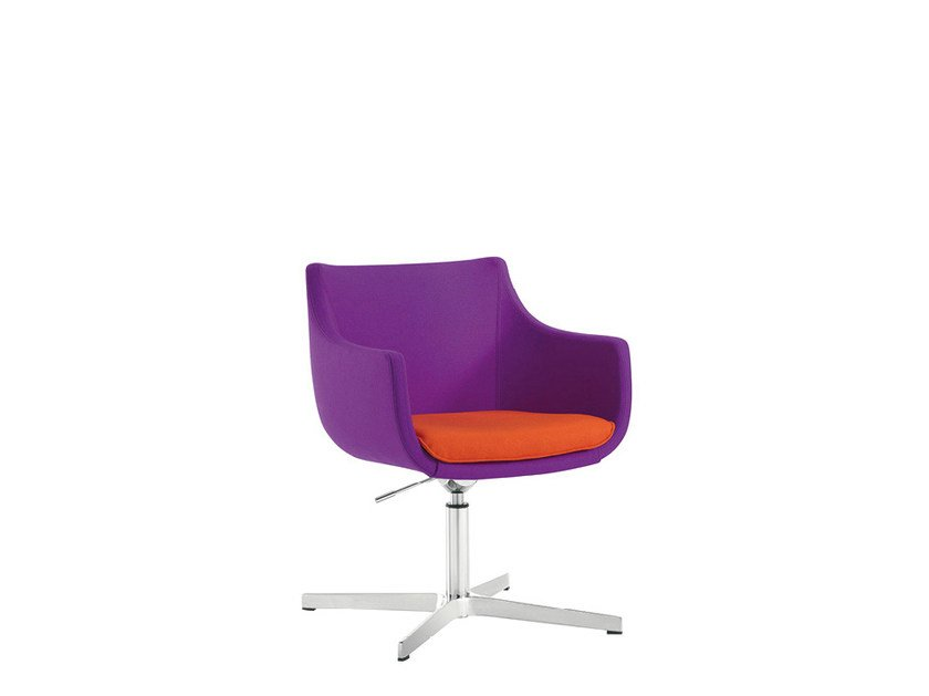 Height-adjustable reception chair D&N PLUS | Height-adjustable chair by Sesta