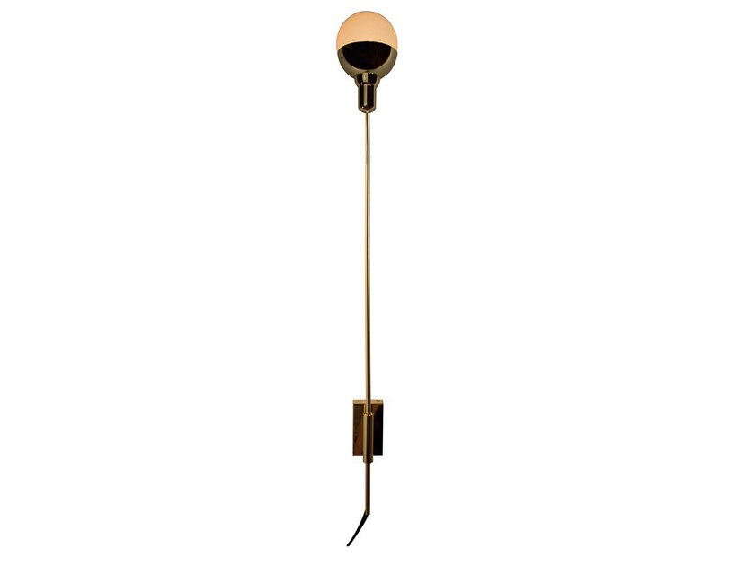 Metal wall lamp with fixed arm HELMET XL by Aromas del Campo