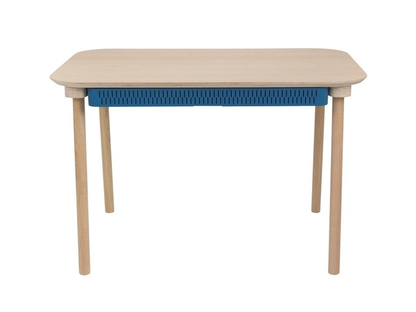 Rectangular dining table with drawers HÉLOÏSE by Dizy