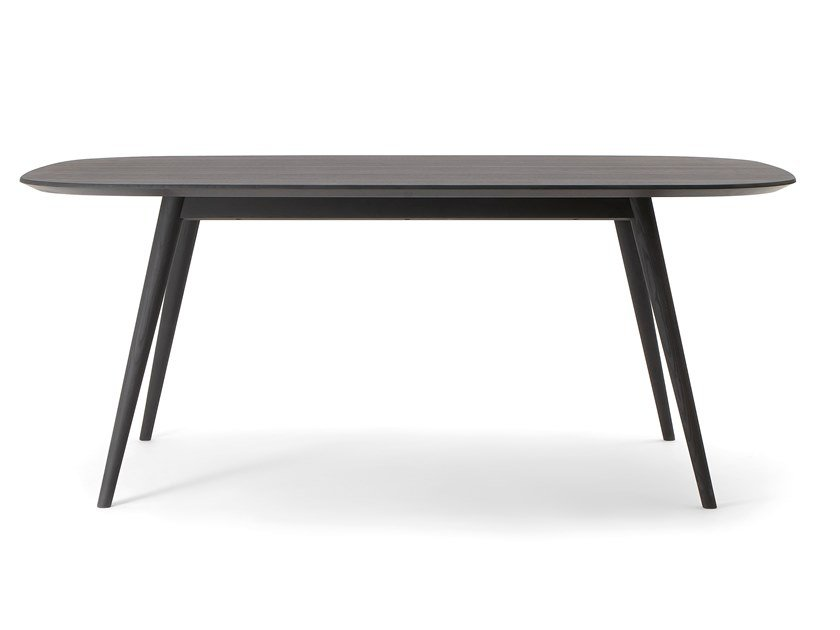 Rectangular solid wood table HER TABLE | Rectangular table by Verti