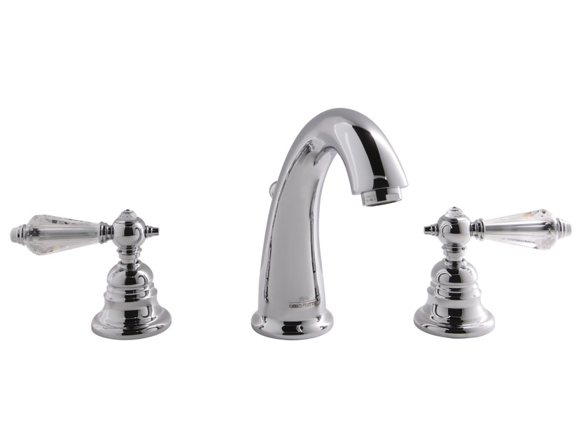 3 hole countertop washbasin tap HEREND CHIC F5421C | Washbasin tap by FIMA Carlo Frattini