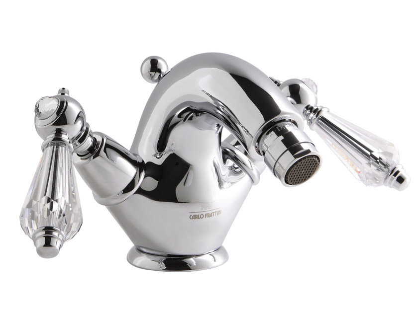 Countertop 1 hole bidet tap with swivel spout HEREND CHIC F5432C | Bidet tap by FIMA Carlo Frattini