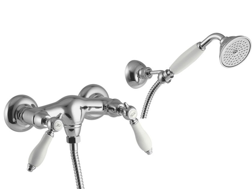 3 hole shower tap with hand shower HEREND F5405 | Shower tap by FIMA Carlo Frattini