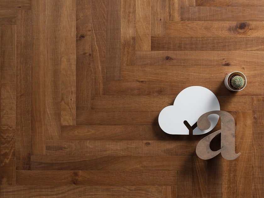 Wooden parquet HERITAGE FILO DI LAMA FIRENZE by Listone Giordano