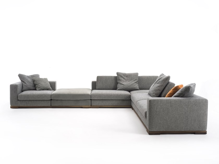 Corner Fabric Sofa HERITAGE By Riva 1920