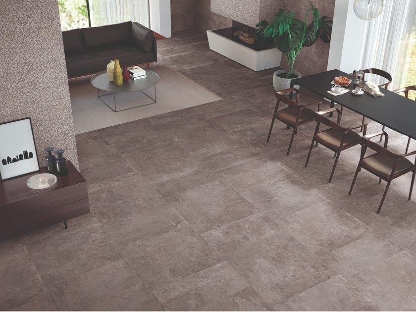 Porcelain stoneware wall/floor tiles with stone effect HERITAGE URBAN by Viva by Emilgroup