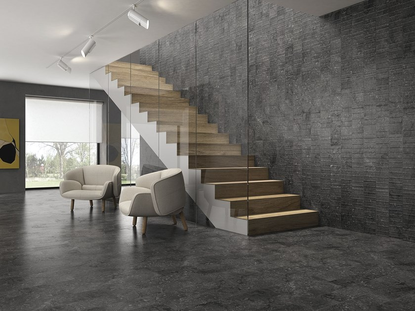 Porcelain wall/floor tiles with marble effect HERO by ITT Ceramic