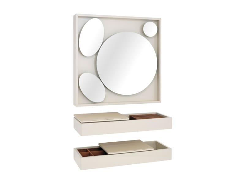 Contemporary style wall-mounted mirror HESPERIDE | Mirror by Schönbuch