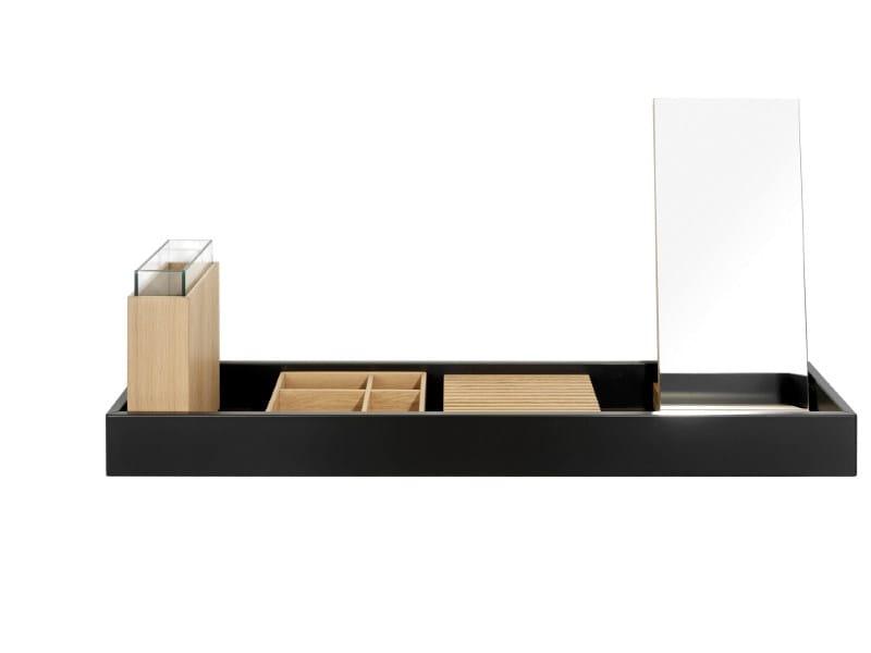 Wooden wall shelf HESPERIDE | Wall shelf by Schönbuch