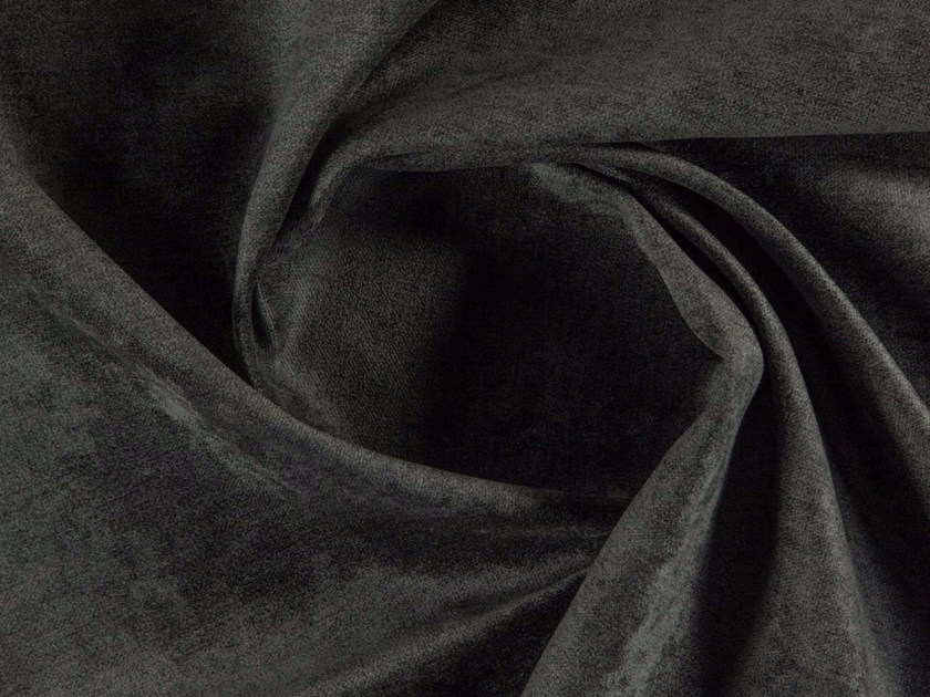 Solid-color washable matt velvet fabric HESTON by More Fabrics