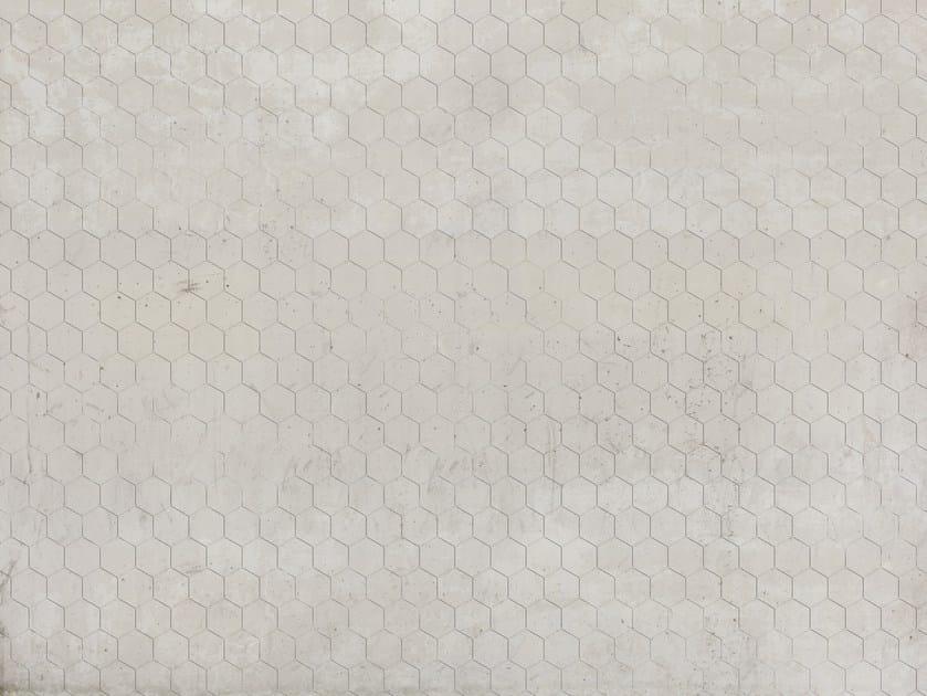 Wallpaper / floor wallpaper HEX PATTERN by Texturae