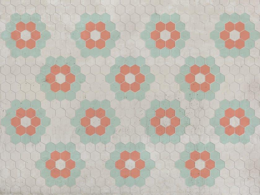 Wallpaper / floor wallpaper HEX by Texturae