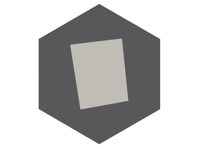 Indoor/outdoor cement wall/floor tiles HEXAGON 111 by TsourlakisTiles
