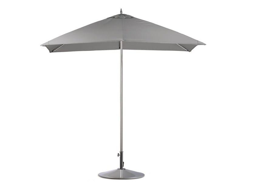 Square aluminium Garden umbrella SQUARE | Square Garden umbrella by Dedon