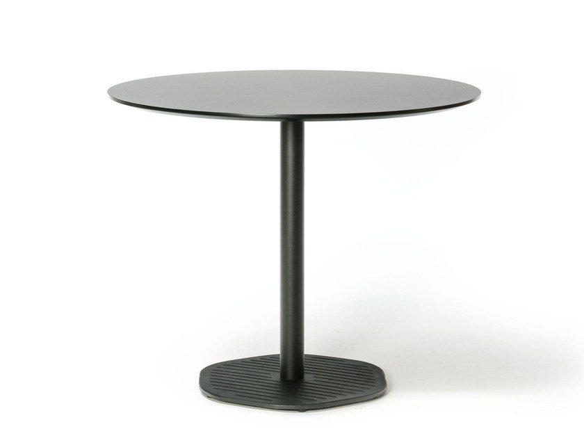 Lacquered round table HEXAGON 358 | Lacquered table by TON