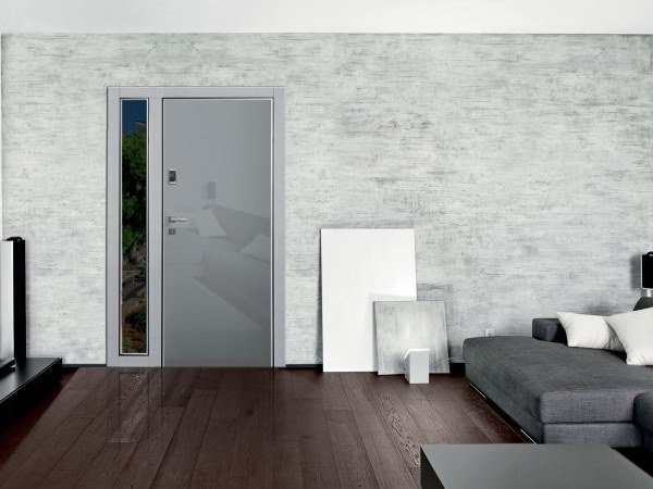 Safety door with electronic lock HIBRY by DIERRE
