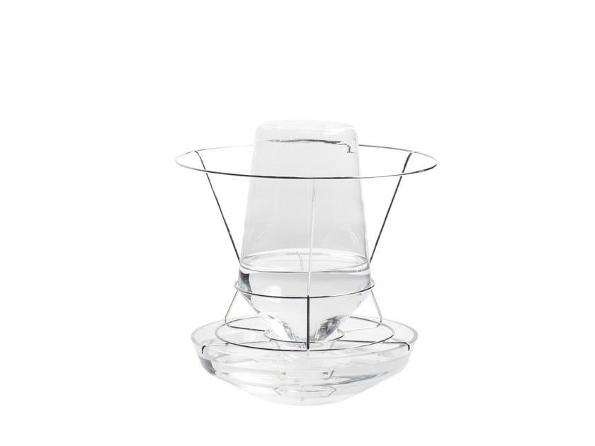 Borosilicate glass vase HIDDEN VASE | Borosilicate glass vase by valerie_objects