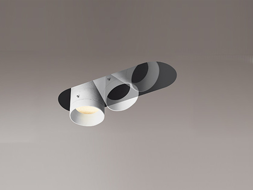 LED adjustable built-in extruded aluminium HIDE | by Artemide