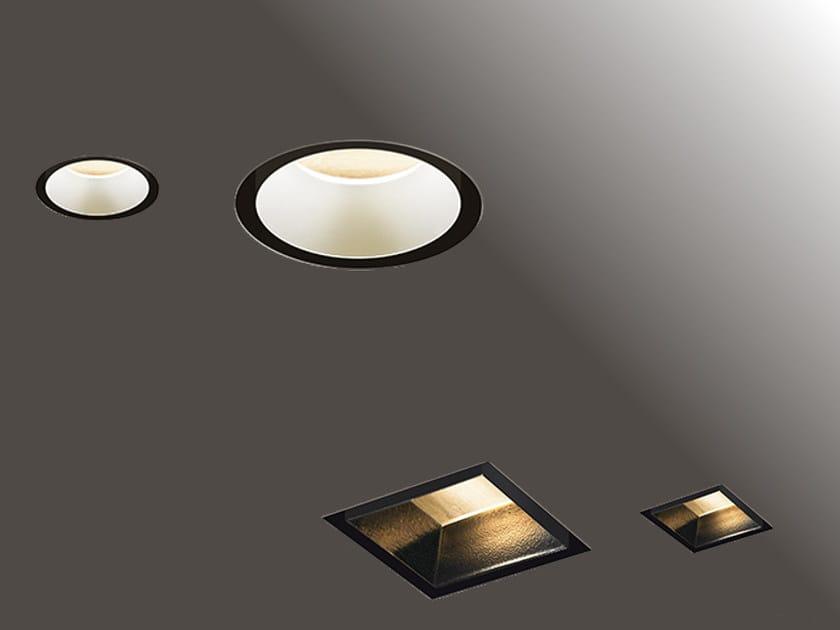 Faretto a LED in alluminio estruso da incasso HIDE | Faretto by Artemide