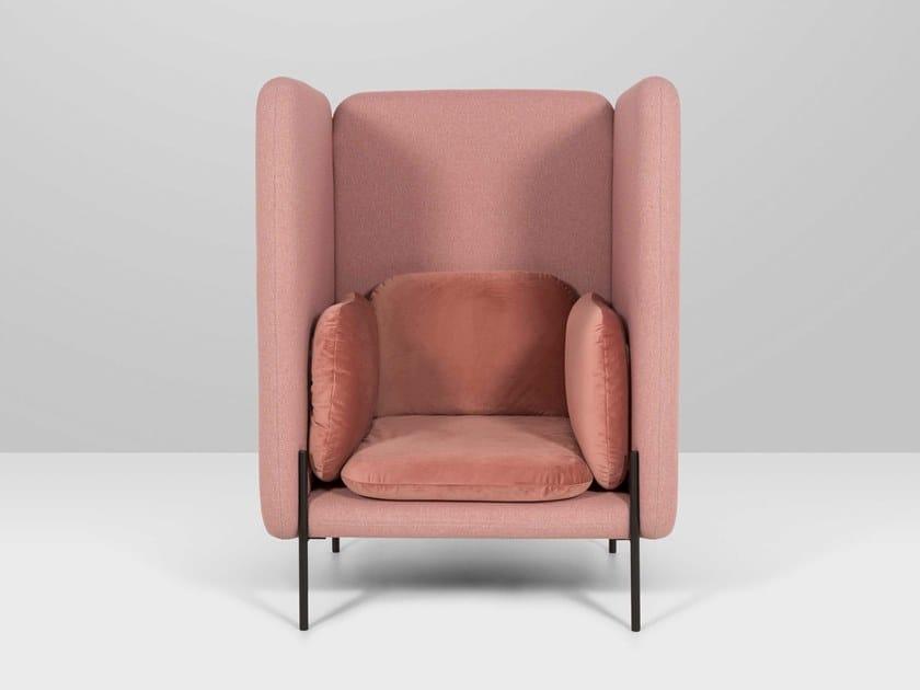 High-back armchair ARCHIDUC   High-back armchair by Recor Home