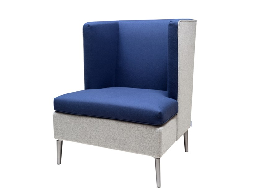 High-back lobby chair LUC | High-back armchair by SOFTREND