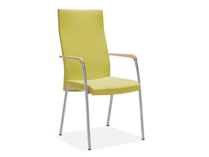 Stuhl mit hoher Rückenlehne IRIS | Stuhl mit hoher Rückenlehne by Casala